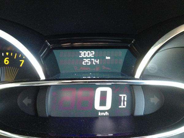 3000km