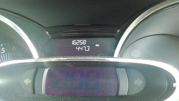 2016年4月の燃費